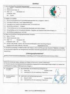 IST GmbH - der zertifizierte Entsorgungsfachbetrieb